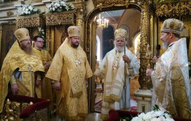Πανηγύρισε το Μετόχι της Σερβικής Εκκλησίας στη Μόσχα (ΦΩΤΟ)