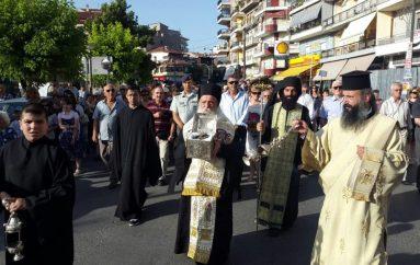 Υποδοχή της Τιμίας Κάρας του Αγίου Νικάνωρος στα Γρεβενά (ΦΩΤΟ)