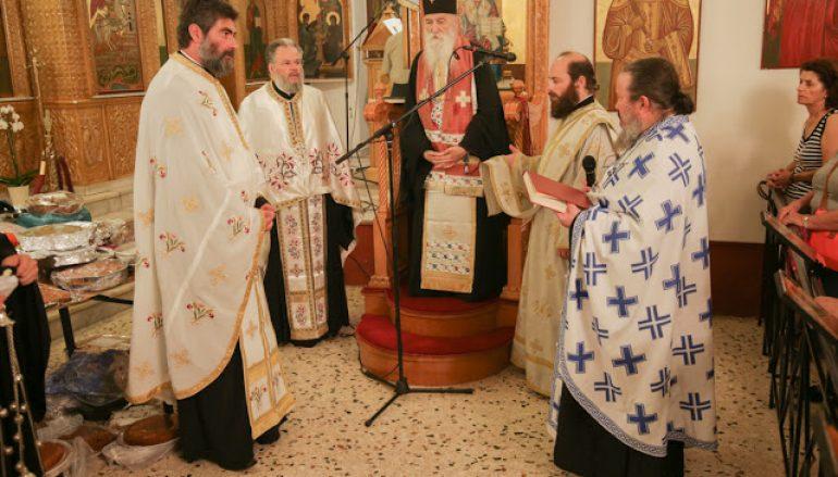 Η εορτή του Αγίου Φανουρίου στην Τερψιθέα Γλυφάδας (ΦΩΤΟ)