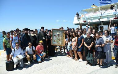 Προσκυνηματικός Περίπλους του Αγίου Όρους από την Ι. Μ. Κίτρους (ΦΩΤΟ)