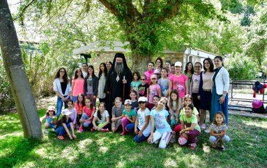 Ολοκληρώθηκε η φιλοξενία νέων στη Μονή Αγίου Γεωργίου Ρητίνης (ΦΩΤΟ)