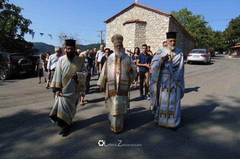 Η Αποτομή της Κεφαλής του Προδρόμου στο χωριό των Κολοκοτρωναίων