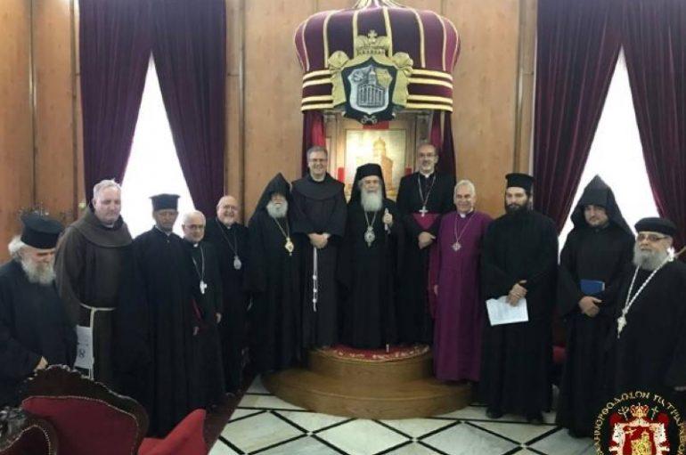 Συνάντηση των Αρχηγών των Χριστιανικών Εκκλησιών στα Ιεροσόλυμα