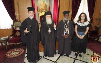 Στον Πατριάρχη Ιεροσολύμων ο Μητροπολίτης Μουάνζας Ιερώνυμος (ΦΩΤΟ)