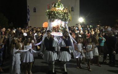 Λαοθάλασσα πιστών για τον εορτασμό της Παναγίας στη Φοινικούντα (ΦΩΤΟ)