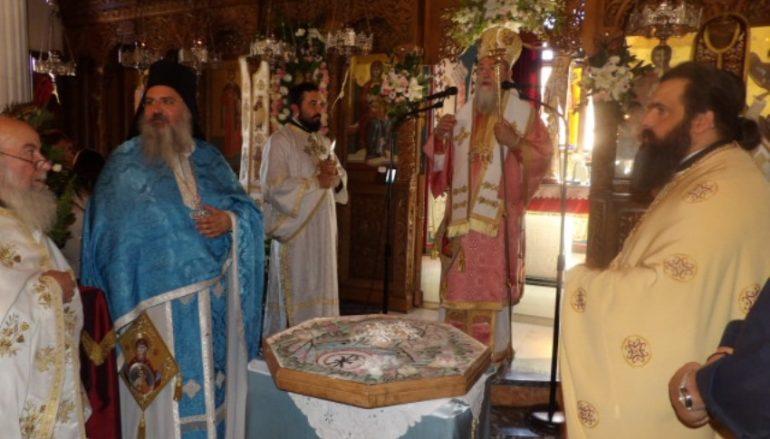 Η εορτή της Κοιμήσεως της Θεοτόκου στην Ι. Μ. Κορίνθου (ΦΩΤΟ)
