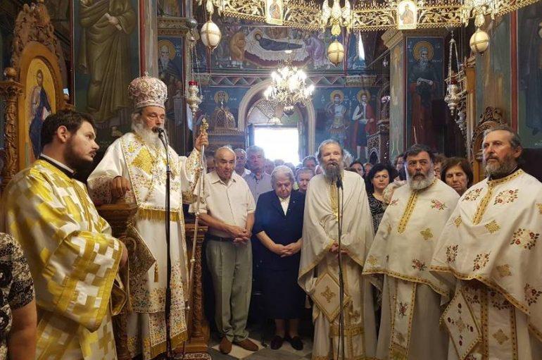 Πανηγύρισε η Ι. Μονή Παναγίας Φανερωμένης στο Χιλιομόδι Κορινθίας (ΦΩΤΟ)