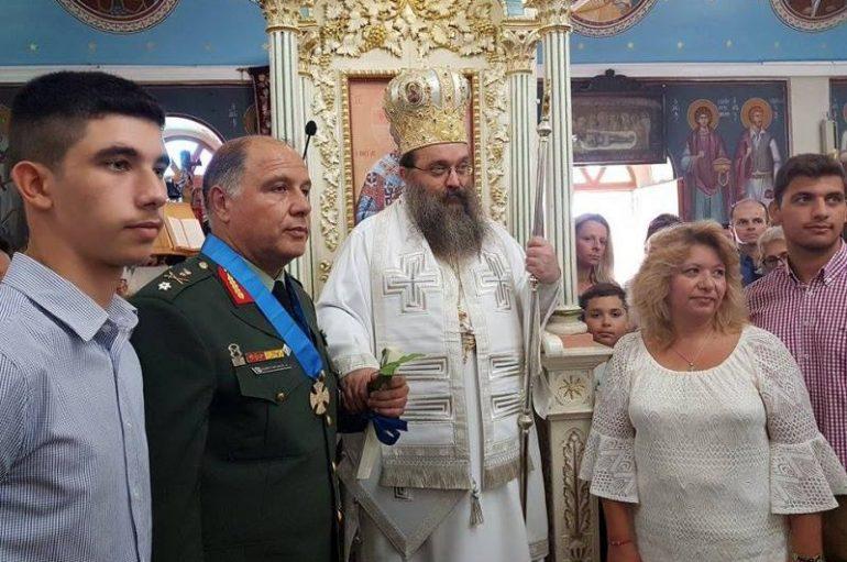 """Χίου Μάρκος: """"Σημαιοφόρος του Έθνους μας η Παναγία"""" (ΦΩΤΟ)"""