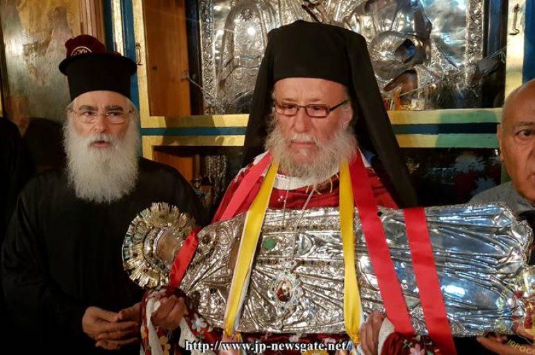 Η κάθοδος της Παναγίας στο Θεομητορικό Μνήμα (ΦΩΤΟ)