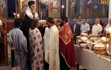 Εσπερινός του Αγίου Κοσμά του Αιτωλού στον Μακρύκαμπο Διασέλλου Άρτης (ΦΩΤΟ)