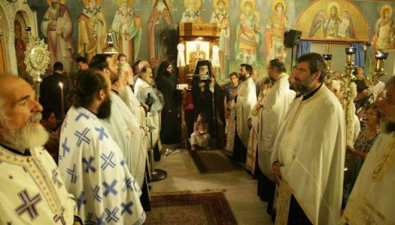 Η εορτή της Κοιμήσεως της Θεοτόκου στην Ι. Μ. Γλυφάδας (ΦΩΤΟ)
