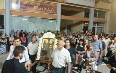 Πλήθος πιστών στο εσπερινό του Αγ. Ιωάννου Προδρόμου στην Πτολεμαΐδα (ΦΩΤΟ)