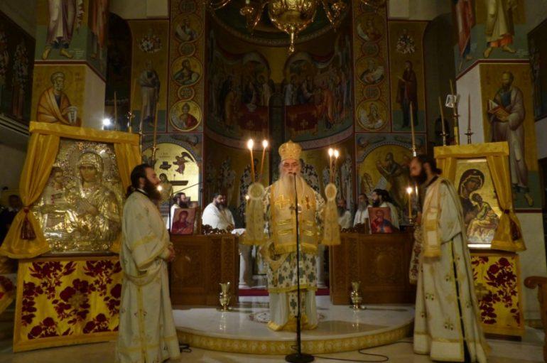 Προεόρτια Ιερά Αγρυπνία για τον Άγιο Νικάνορα στην Καστοριά (ΦΩΤΟ)