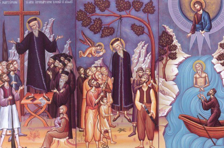 Ο άγιος Κοσμάς ο Αιτωλός και οι ημιμαθείς νεοέλληνες