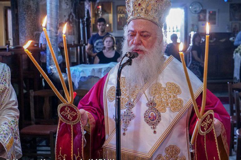 Αρχιερατική Θεία Λειτουργία στον Ι. Ναό Αγίου Στεφάνου Βεροίας (ΦΩΤΟ)