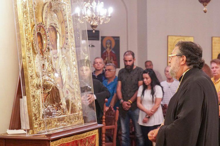 Η πρώτη παράκληση της Παναγίας στην Ι. Μονή Παναγίας Δοβρά (ΦΩΤΟ)