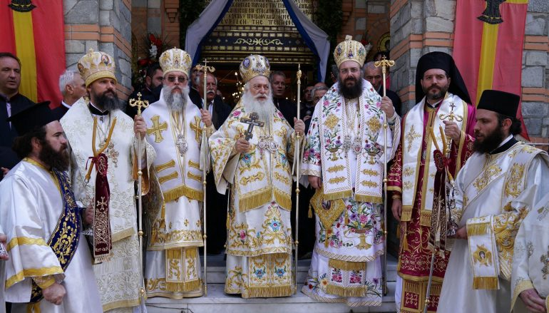 Με λαμπρότητα πανηγύρισε η Παναγία Σουμελά στο Βέρμιο (ΦΩΤΟ)