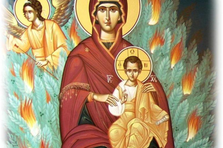 «Ω θύγατερ Αδάμ και μήτηρ Θεού»