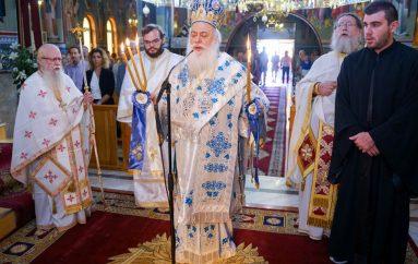 Η πανήγυρις του Αγίου Κοσμά του Αιτωλού στα Τρίκαλα Ημαθίας (ΦΩΤΟ)