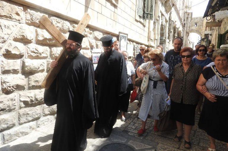 Ιεραποδημία του Μητροπολίτη Μαρωνείας στους Αγίους Τόπους (ΦΩΤΟ)