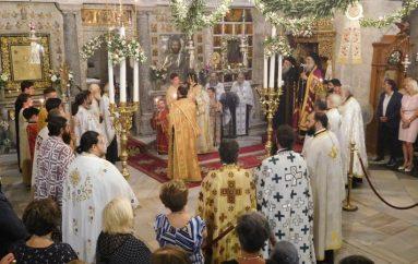 Δισαρχιερατικός εσπερινός στην Παναγία Εκατονταπυλιανή της Πάρου (ΦΩΤΟ)