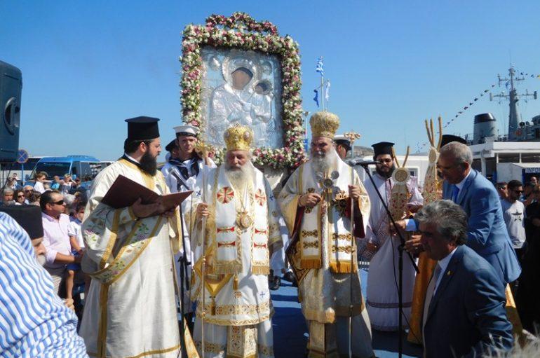 Στιγμές Βυζαντινής Μεγαλοπρέπειας στην Πάρο (ΦΩΤΟ)