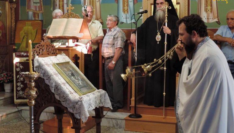 Παρακλητικός Κανών προς την Υπεραγία Θεοτόκο στην Ι. Μ. Άρτης (ΦΩΤΟ)