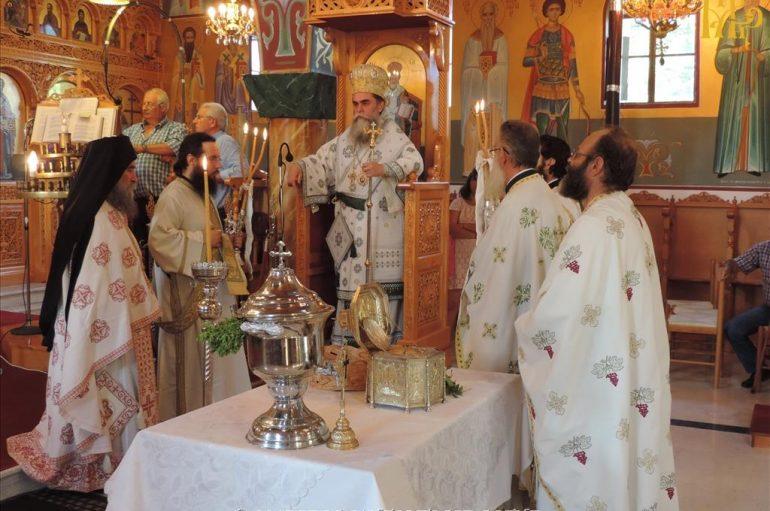 Προσκύνημα Τιμίας Κάρας του Αγ. Βησσαρίωνος στις Μηλιές Άρτης (ΦΩΤΟ)