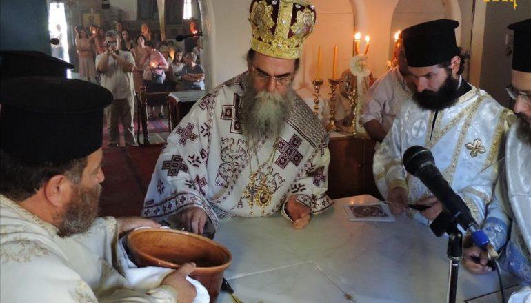 Εγκαίνια Ιερού Ναού από τον Μητροπολίτη Άρτης (ΦΩΤΟ)