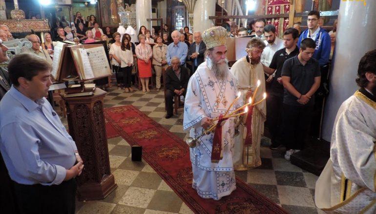 Αρχιερατική Θεία Λειτουργία στα ορεινά Θεοδώριανα Άρτης (ΦΩΤΟ)