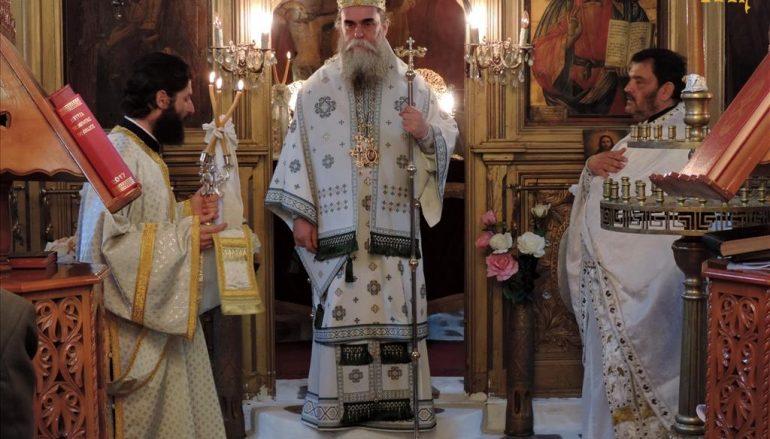 Αρχιερατική Θεία Λειτουργία στο Αμπελοχώρι Τζουμέρκων (ΦΩΤΟ)