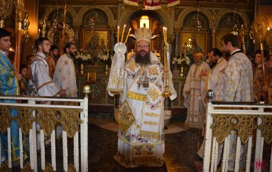 Πανηγύρισε ο Καθεδρικός Ι. Ναός Κοιμήσεως της Θεοτόκου Μεγάρων (ΦΩΤΟ)