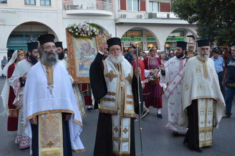 """Μαντινείας Αλέξανδρος: """"Η Παναγία είναι η μητέρα και η ελπίδα των Χριστιανών"""" (ΦΩΤΟ)"""