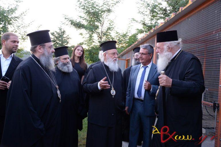 Ο Αρχιεπίσκοπος Ιερώνυμος στον Μητροπολίτη Μαντινείας Αλέξανδρο (ΦΩΤΟ)