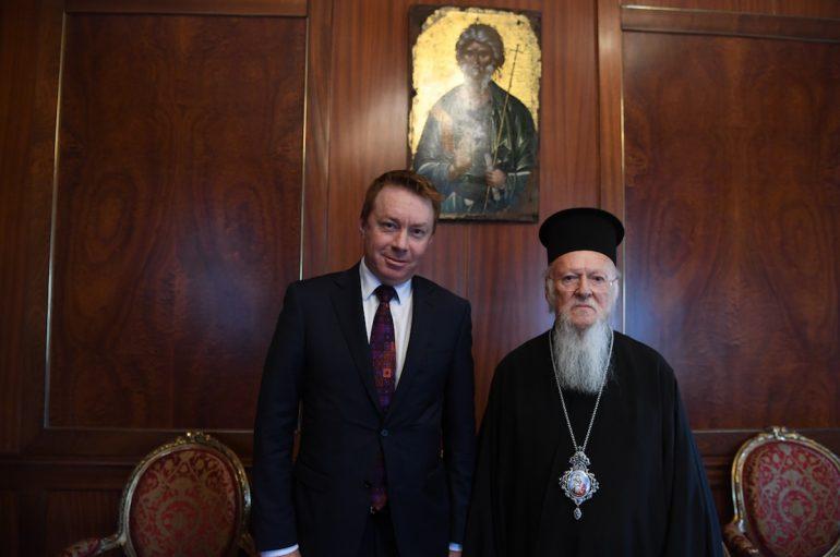 Επίσκεψη του νέου Πρέσβη της Αυστραλίας στο Φανάρι