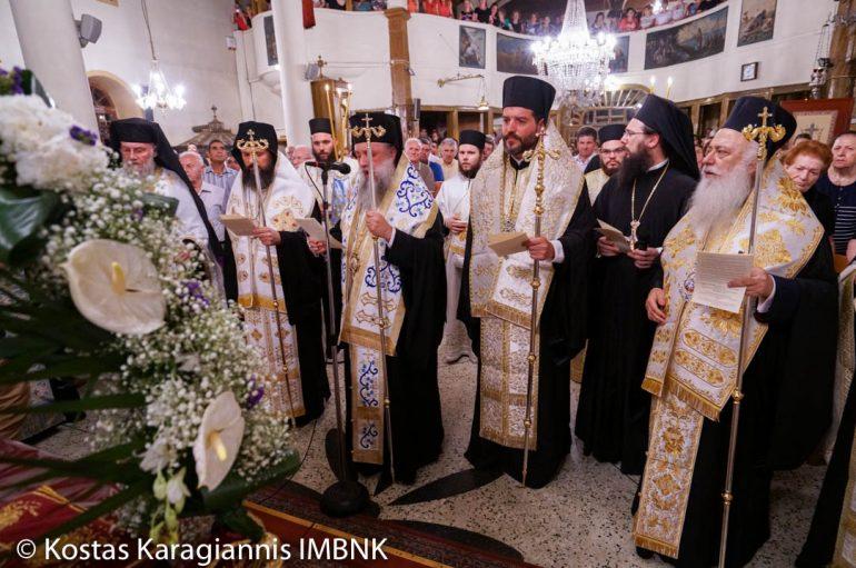 Ξεκίνησαν οι εορταστικές εκδηλώσεις για την Παναγία στην Ι. Μ. Βεροίας (ΦΩΤΟ)