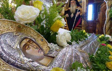 Ο εσπερινός της Κοιμήσεως της Θεοτόκου στην Καστοριά (ΦΩΤΟ)