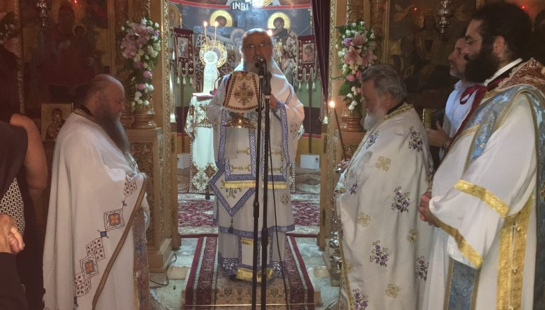 Πανηγύρισε η Ιερά Μονή Κοιμήσεως της Θεοτόκου Λιγοβιτσίου (ΦΩΤΟ)