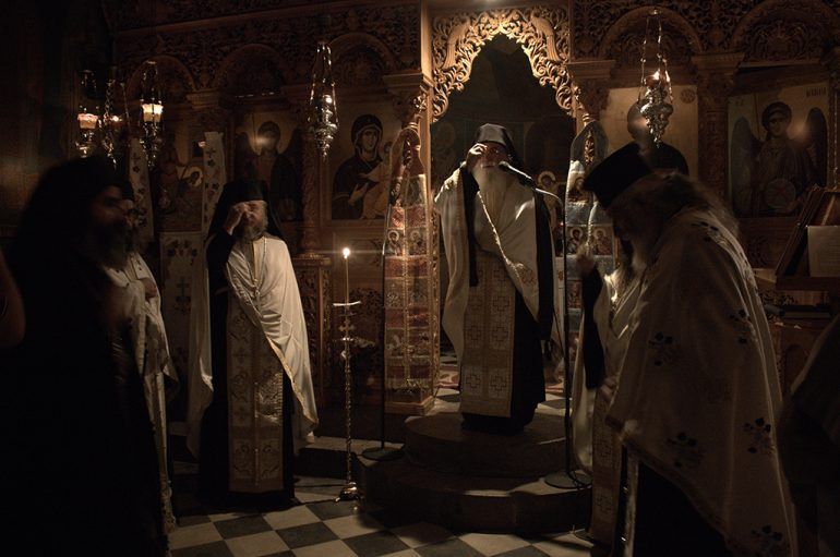 Ο Μητροπολίτης Φωκίδος στην Ι. Μονή Αγ. Ιωάννου Προδρόμου Δεσφίνας (ΦΩΤΟ)