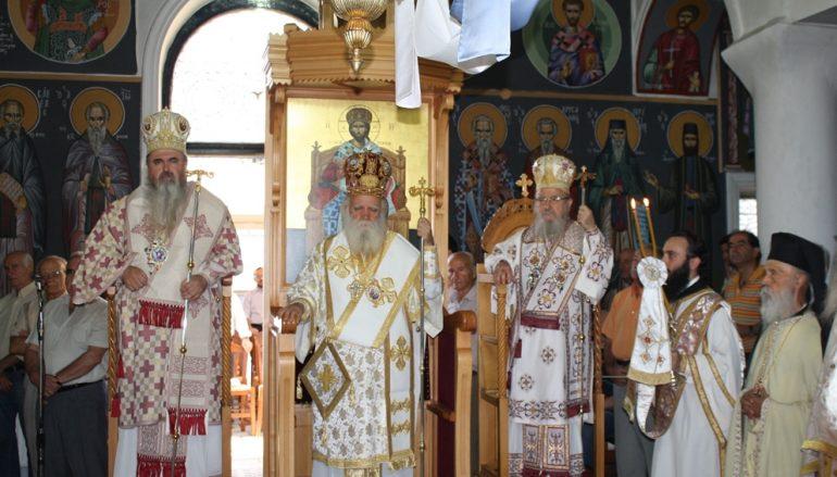 Τον Πολιούχο του Άγιο Κοσμά τον Αιτωλό τίμησε το Μέγα Δένδρο Θέρμου (ΦΩΤΟ)