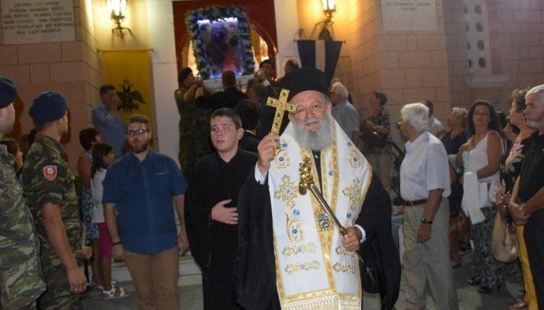 Πανηγύρισε το Προσκύνημα της Παναγίας Φανερωμένης στη Νέα Αρτάκη (ΦΩΤΟ)