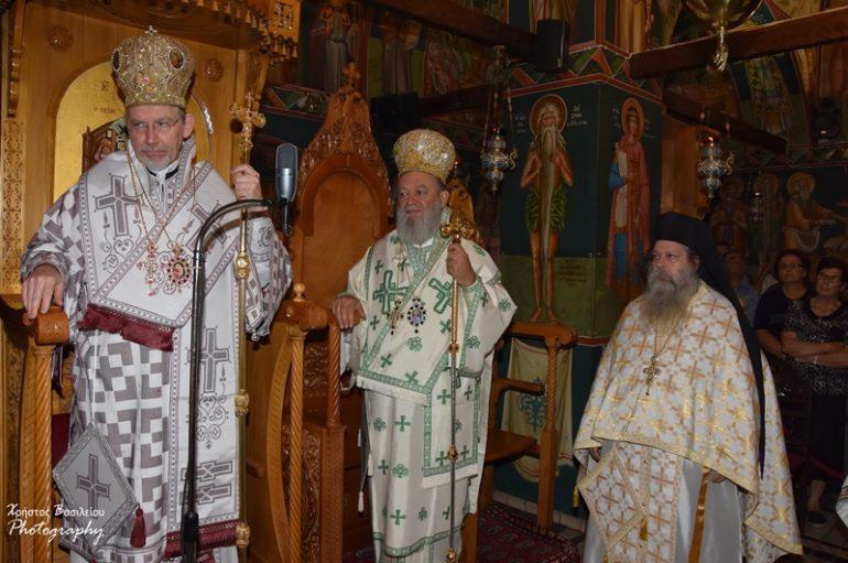 Πανηγύρισε η Ι. Μονή Οσίου Δαυΐδ του Γέροντος στην Βόρεια Εύβοια (ΦΩΤΟ)