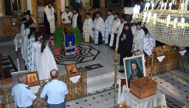 Η Καρδίτσα υποδέχθηκε τα οστά του μακαριστού Μητροπολίτου Κυρίλλου Α΄