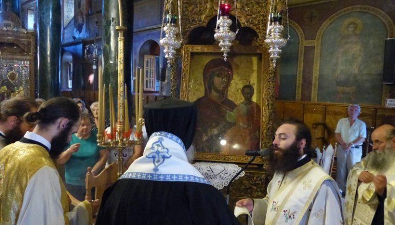 Η πρώτη Παράκληση της Παναγίας στην Ι. Μ. Καστορίας (ΦΩΤΟ)