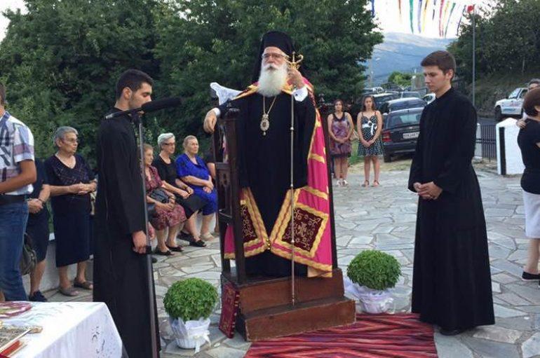 Τιμήθηκε στη Ζαγορά η μνήμη του Αγίου Τριανταφύλλου (ΦΩΤΟ)