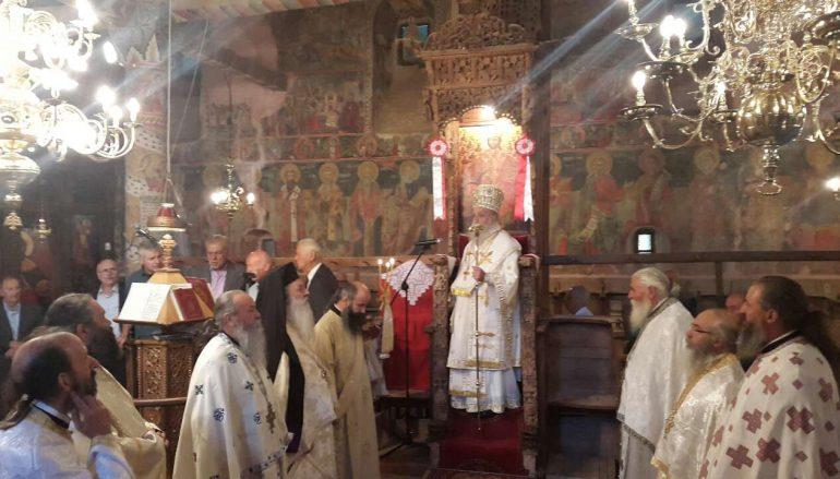 Ο εορτασμός της «Μεγάλης Παναγιάς» στην Σαμαρίνα (ΦΩΤΟ)