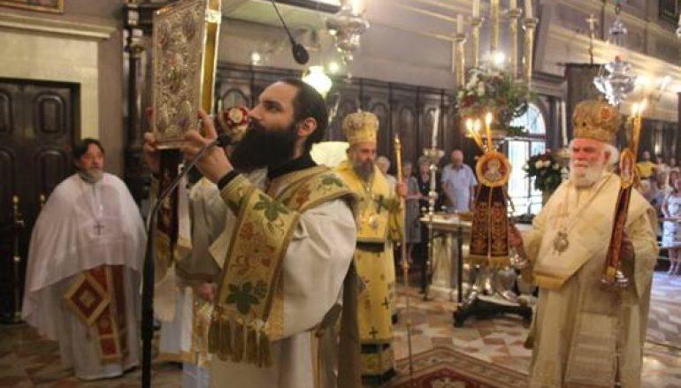 Πολυαρχιερατική Θεία Λειτουργία στον Άγιο Σπυρίδωνα Κέρκυρας (ΦΩΤΟ)