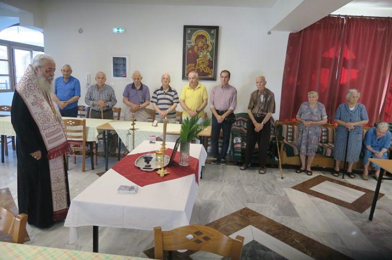 Η Ακολουθία της Ιεράς Παρακλήσεως στο Γηροκομείο Στυλίδος (ΦΩΤΟ)