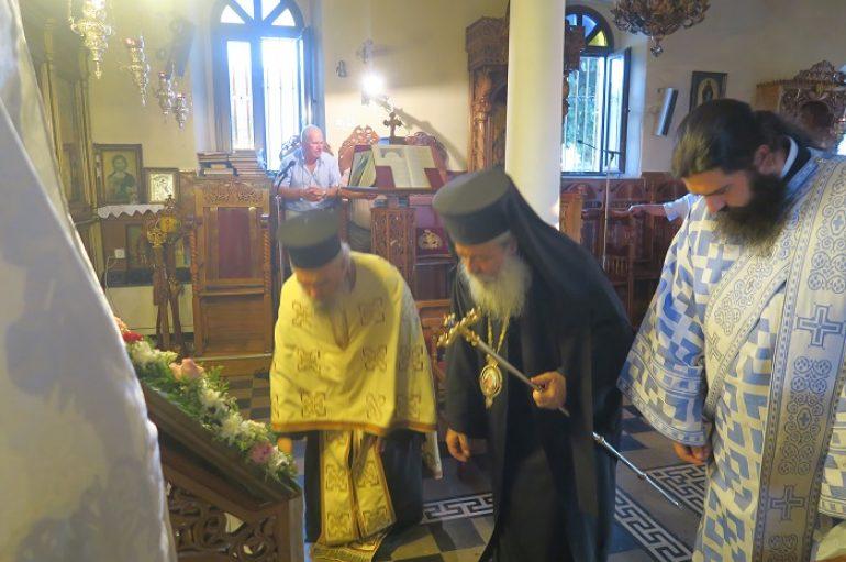 """Φθιώτιδος: """"Έχουμε χρέος να τιμούμε και να σεβόμαστε την Παναγία"""""""