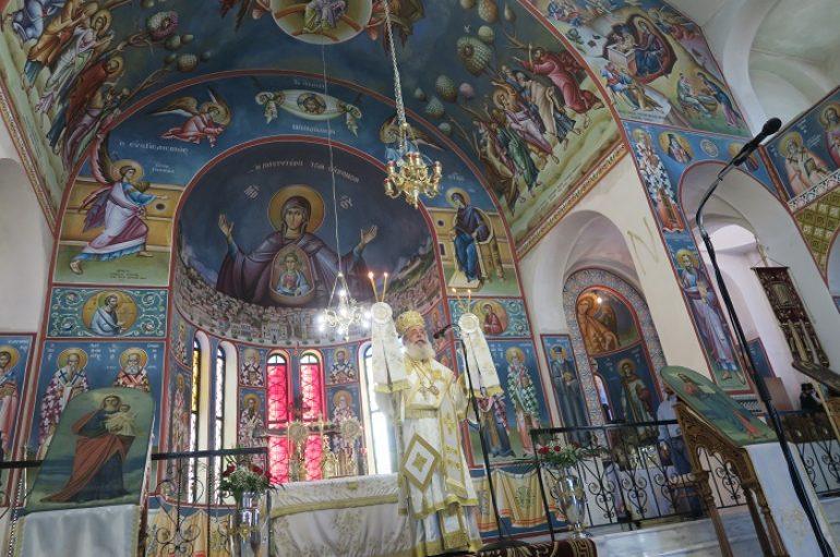 Κυριακή μετά την Κοίμηση της Υπεραγίας Θεοτόκου στην Ι. Μ. Φθιώτιδος (ΦΩΤΟ)